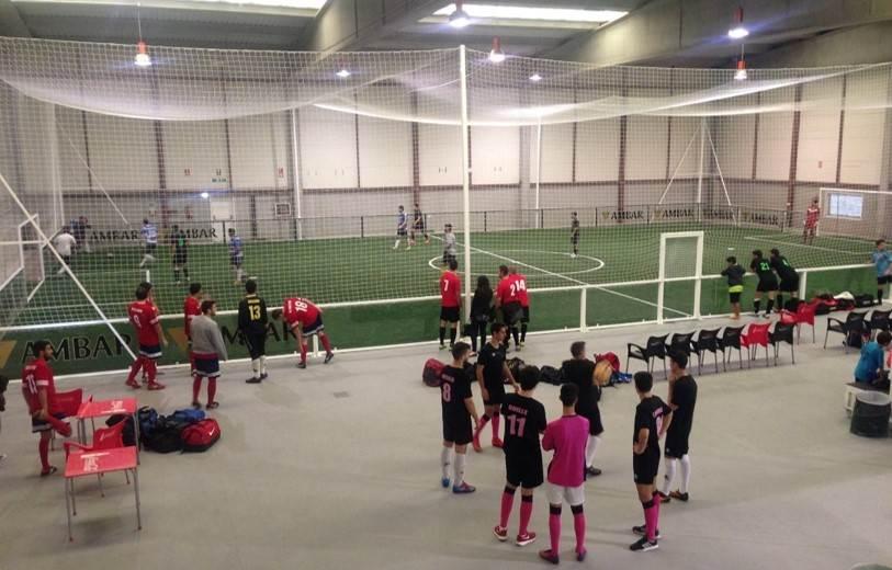 Fútbol Indoor y Grada Supletoria